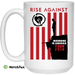 Rise Against Mourning In America Tour 2018 Mug