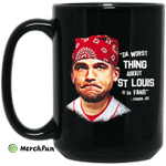 Da Worst Thing About St Louis Is Da Fans Prison Joe Mug