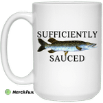 Sufficiently Sauced Mug