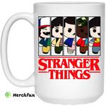 Stranger Things Cartoon Pattern Mug