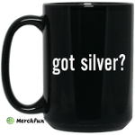 Got Silver Wall Street Silver Mug