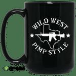 Wild West Pimp Style Mug