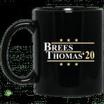 Vote Brees Thomas 2020 President Mug