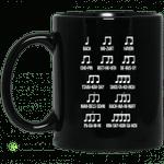 Composer Rhythm Music Gift Bach Mozart Beethoven Chopin Camiseta Mug