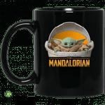 The Mandalorian Baby Yoda mug