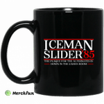Danger Zone Iceman Slider 85' The Plaque For The Alternates Is Down In The Ladies Room Mug