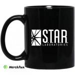 S.T.A.R. Labs Mug - Star Laboratories Black Mug