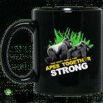 Gorilla Dian Fossey Gorilla Fund Apes Together Strong Mug