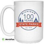 Michigan State Parks Centennial Mug