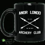 Anor Londo Archery Club Est 2011 Mug