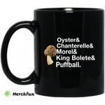 The Mushroom Forager Oyster & Chanterelle & Morel & King Bolete & Puffball Mug