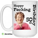 Mrs. Brown's Boys: Happy Fecking 50th Birthday Mug