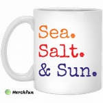 Sea salt and sun mug