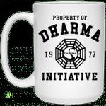 Property Of Dharma 1977 Initiative Mug