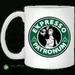 Harry espresso patronum mug