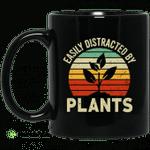 Easily Distracted By Plants Mug