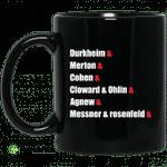 Durkheim and Merton and Cohen and Cloward and Ohlin mug