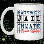 Facebook jail inmate repeat offender mug