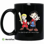 In A Land Of Myth And A Time Of Magic Merlin Mug