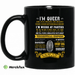 I'm Queer And I Play Dungeons And Dragons Have Noticeable Adhd Mug