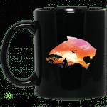 Wakanda Sunset Black Mug