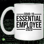 Coovid Corona Essential Employee 2020 mug