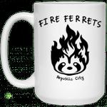 Fire Ferrets Republic City Mug