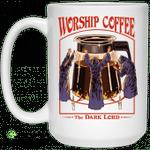 Worship Coffee The Dark Lord Mug