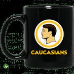 Washington Caucasians Redskins Mug