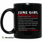 June Girl Facts Is Most Known For Human Lie Detector And The Realist Mug Happy Birthday June Gifts Mug