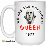 Queen We Are The Champions Queen 1977 Mug