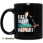 Eat Sleep Shawn Repeat Mug