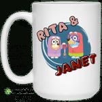 Rita And Janet Grannies Mug