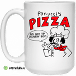Panucci's Pizza Do Not Tip Delivery Boy Mug