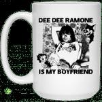 Dee Dee Ramone Is My Boyfriend Mug