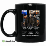 15 Years Of Supernatural Thank You For My Memories Mug