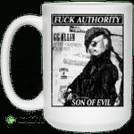 Fuck Authority Son Of Evil Mug