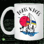 Boats N hoes mug