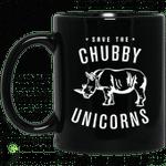 Save The Chubby Unicorns Mug