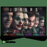 Jokers Character Signature Horizontal Landscape Poster