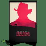 Red Dead Redemption Inspired Minimalist Alternative Poster