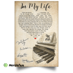 In My life The Beatles Poster