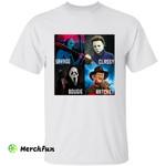 Horror Movies Character Savage Classy Bougie Ratchet Halloween T-Shirt