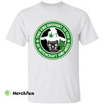 Cannabis Marijuana Smoking Skull Witch This Vibe Brought To You By Witchcraft And Weed Halloween T-Shirt