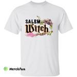 Salem Witch Hat Broomstick Wizard Halloween T-Shirt