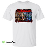Bloody Collection Halloween Horror Movies Characters T-Shirt
