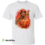 A Nightmare On Elm Street Freddy Krueger Sweet Dreams Pumpkin Halloween T-Shirt