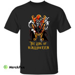 The Nightmare Before Christmas Jack Skellington The King Of Halloween Horror Movie Character T-Shirt