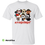 Chibi Horror Movies Character Fright Night Halloween T-Shirt
