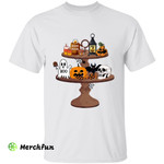 Funny Scary Table Halloween Vibes T-Shirt